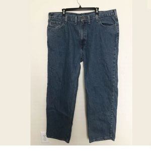 Carhartt relaxed fit straight leg jeans 44x32